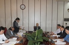 Party leader chairs meeting on anti-corruption