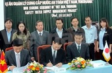 Japan helps Thua Thien-Hue provide safe water