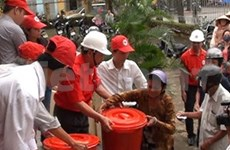 Vietnam, Laos Red Cross promote cooperation