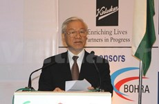 Party chief welcomes Indian investors