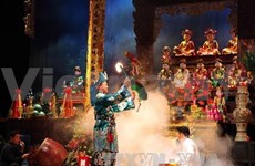 Nam Dinh festival, singing - intangible heritage