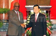 Namibian President lauds Vietnam's achievements