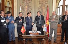 Vietnam-Uruguay diplomatic ties celebrated