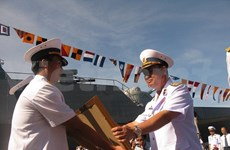 Vietnam, Indonesia boost naval ties