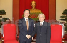 Vietnam, Chinese Parties target further cooperation