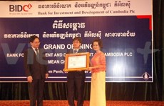 Vietnamese bank's subsidiary opens new branch in Phnom Penh