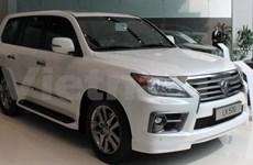 Vietnam imports 34,500 autos, Lexus goes south