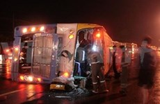 Thailand: 29 killed in bus accident