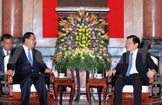 Leaders welcome Cambodian Prime Minister