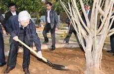 Party leader visits Son La province