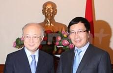 IAEA pledges more support to Vietnam