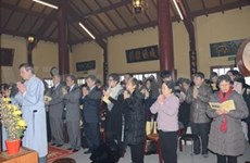 Tet celebrated abroad
