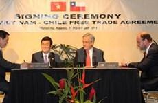 FTA to boost Vietnam-Chile trade value