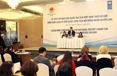 Vietnam appreciates UPR mechanism in human rights promotion
