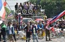 Thai court bans force use against demonstrators