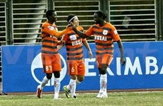 Ninh Binh win debut AFC Cup match