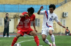 Vietnam-RoK footballers draw blank in international friendly