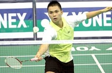 Badminton player Cuong climbs to 5th in world junior rankings
