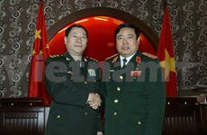 Defence Minister welcomes Chinese official