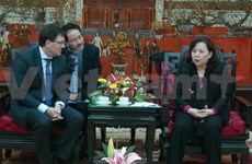 Hanoi keen on enhance training cooperation with German firms