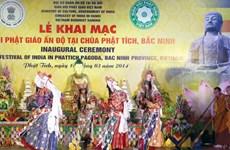 Indian festival showcases Buddhist culture