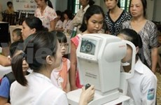 Ophthalmology institute receives help in child eye care