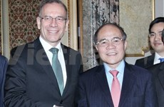 NA Chairman busy in Switzerland