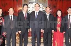 Fatherland Front President begins Singapore visit