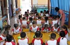 NGO vows to build kindergartens in Kien Giang