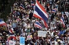 Thai protesters restart anti-gov't operation