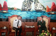 Defence official welcomes US military guest