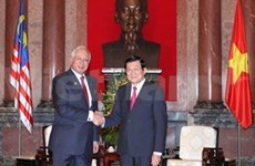 President welcomes Malaysian Prime Minister