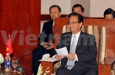 PM meets regional leaders on summit sidelines