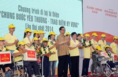 Prime Minister attends walk to support disabled citizens