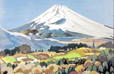 Japanese painter finds Vietnamese inspiration