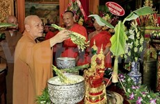 HCM City celebrates Khmer New Year festival