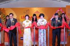 Enterprises flock to garment industry expo