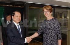 Deputy PM Vu Van Ninh visits Sweden