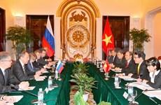 Vietnamese, Russian FMs hold talks