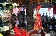 Bac Giang hosts Chau Van singing festival