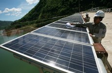 Japan hands over solar system to HCM City school