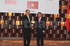 VN, Singapore hold economic connectivity talks