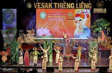 Arts programme in HCM City celebrates Vesak Day