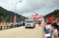 Vietnam-Laos border belt road opens to traffic