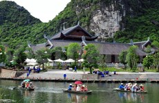 Ninh Binh sees leap in tourist arrivals during holiday