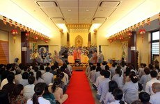 Vietnamese Buddhists celebrate Buddha's Birth in Japan