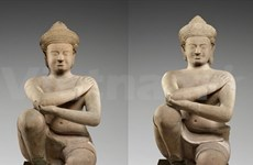 US to return two looted ancient statues to Cambodia
