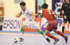 Iran thrash Vietnam 15-4 in AFC quarters