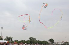 Global kite festival wows visitors