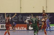 Vietnam shows remarkable progress at Futsal Championship